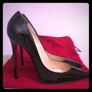 Christian Louboutin Pigalle 120 Patent Black